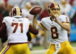 Kirk Cousins Leads Redskins against Falcons