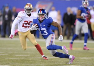 Odell Beckham Jr finds room against 49ers